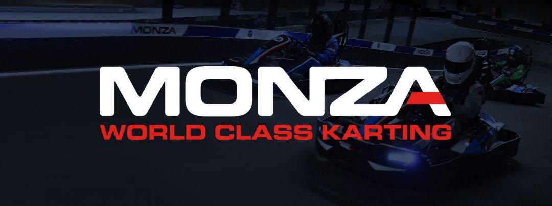 Monza World Class Karting branding