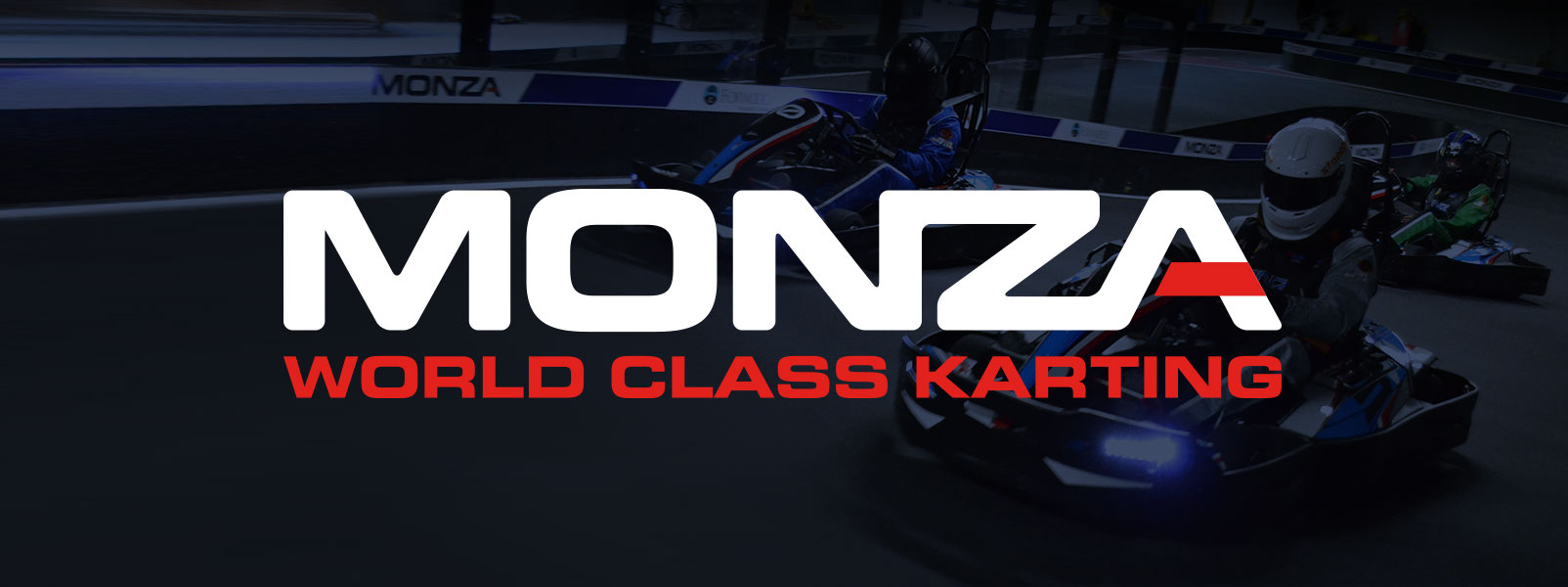 Monza World Class Karting branding