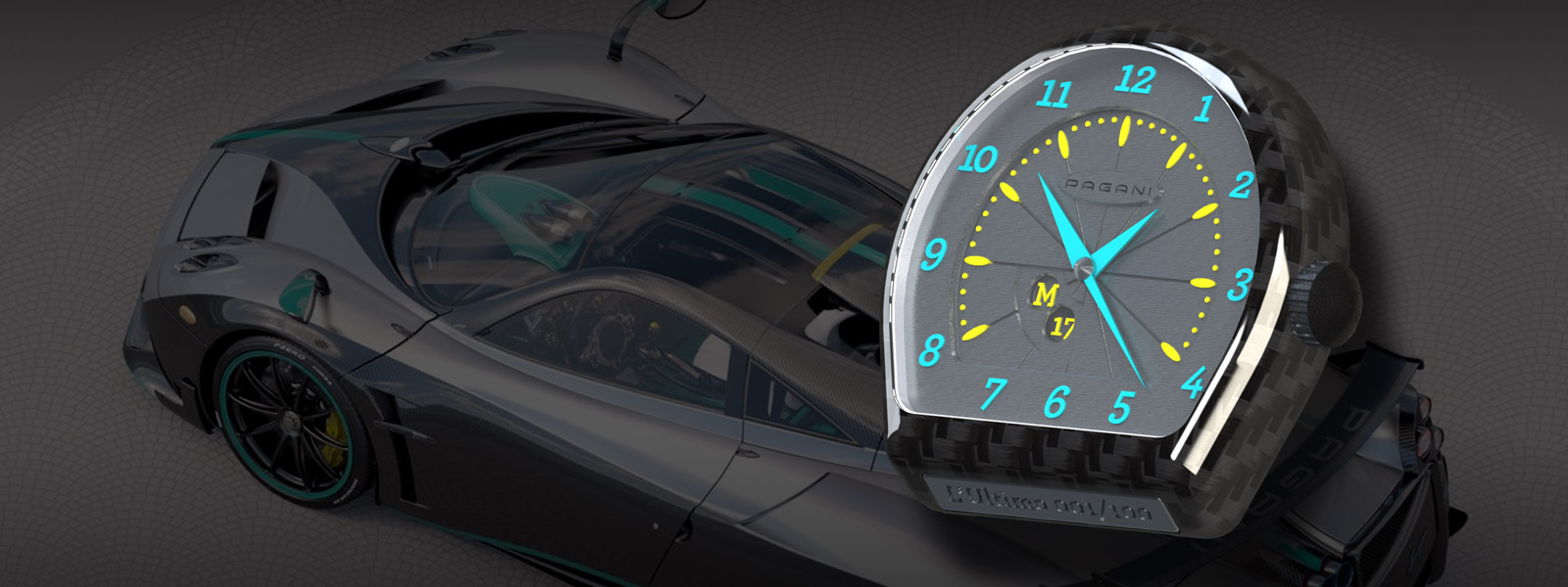 Pagani Huayra Ultimo Watch