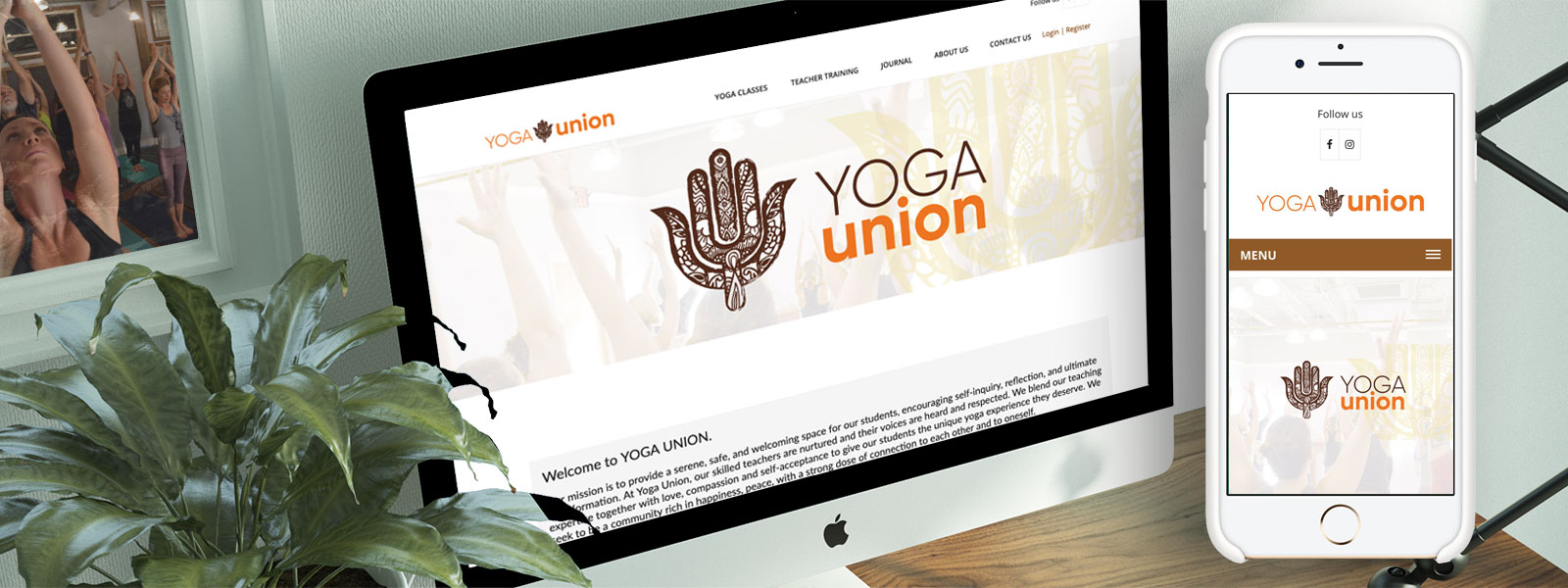 Yoga Union website