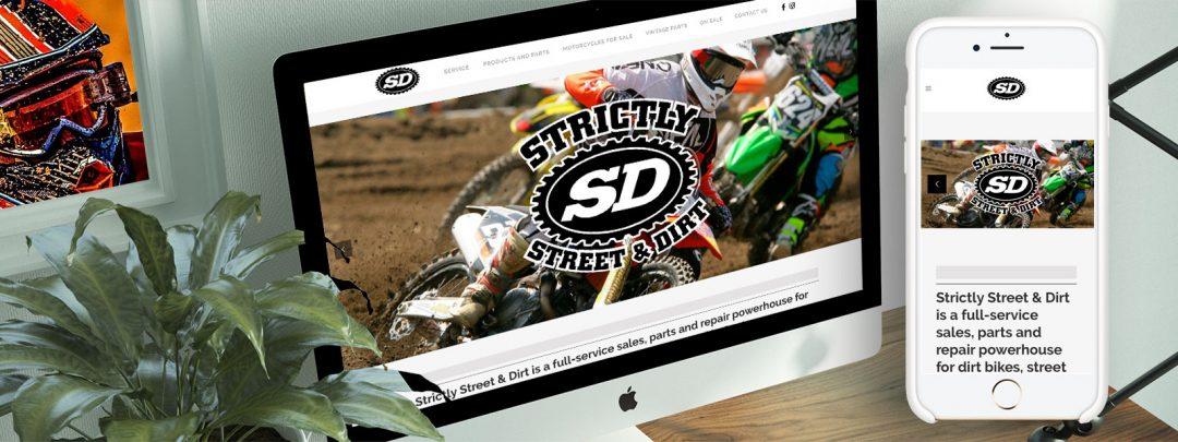 Strictly Dirt Website
